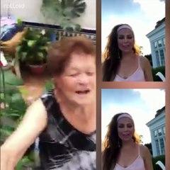 El mejor #Thalíachallenge que vas a ver. La abuela Reyes
