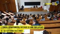 Livre sur la Place : rencontre entre des collégiens et des auteurs