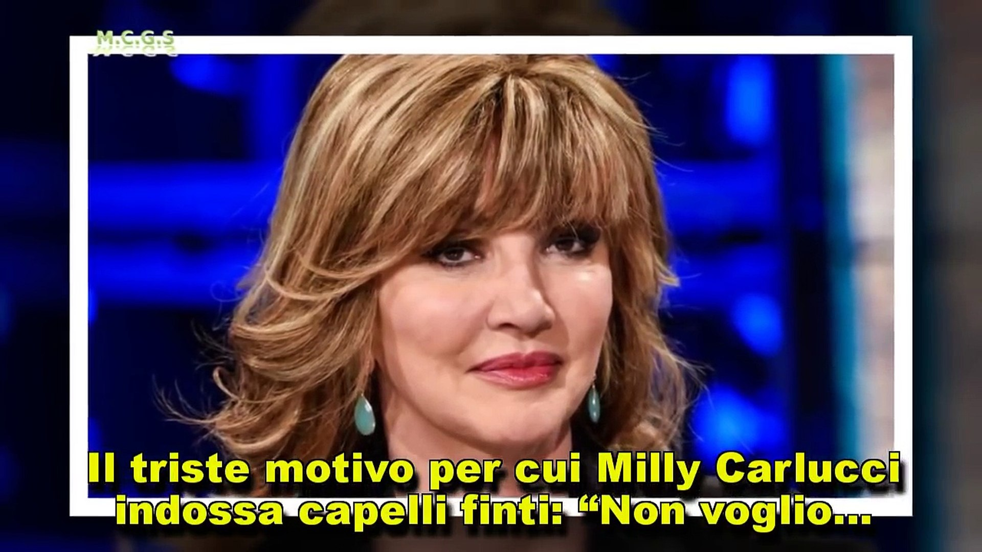 capelli milly carlucci