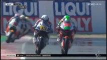 Moto2 San Marino Road Rage Romano Fenati vs Stefano Manzi
