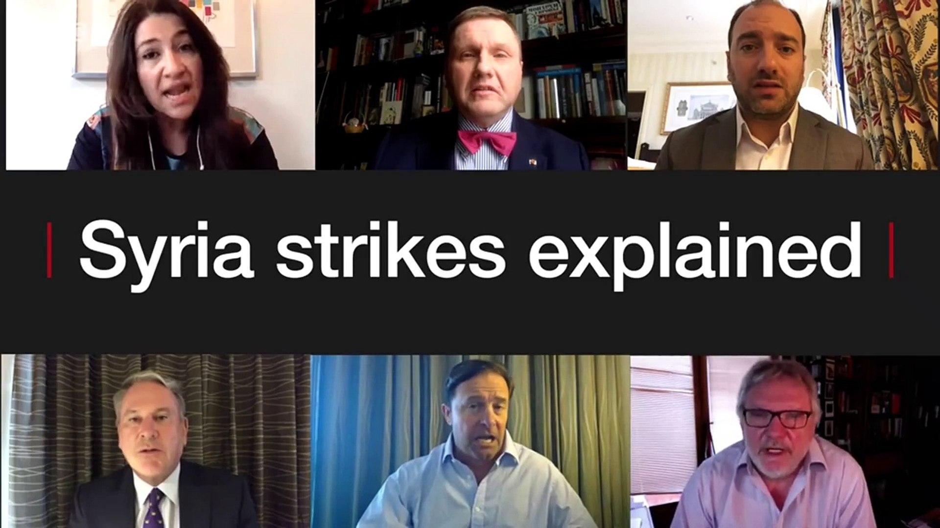 Syria air strikes Explained - BBC News