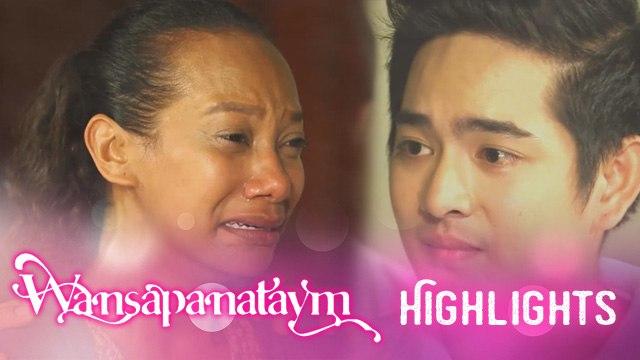 Wansapanataym: Janine gets emotional