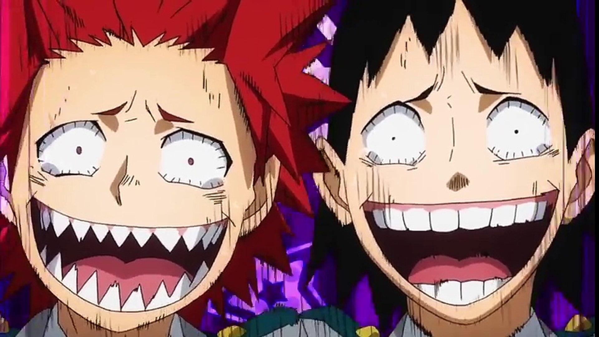 Kirishima And Sero Makes Fun Of Bakugo And His Hair Side Boy Boku No Hero Academia S02e20 Cartoons Tv Hd 2019