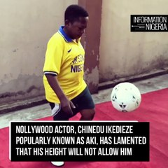 'My Height Won't Let Me Play Basketball' – Nollywood Actor Aki