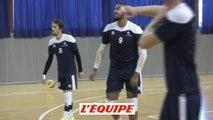 Ngapeth a repris l'entraînement - Volley - Bleus