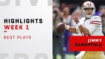 Jimmy Garoppolo's best plays vs. Vikings | Week 1