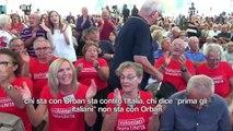"""""""È il governo del cambiamento... sì, cambiano sempre idea"""".Dal palco della Festa nazionale dell'Unità, Matteo Renzi torna ad infiammare il popolo del Pd."""