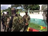 Training and preparing lawmen for any eventualities. Fifty officers attached to the special services unit of the Royal Grenada police force took their training