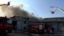 İstanbul Tuzla'da Depo Yangını