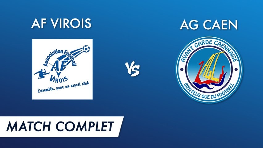 R1 J2 : AF Virois vs AG Caen by UM