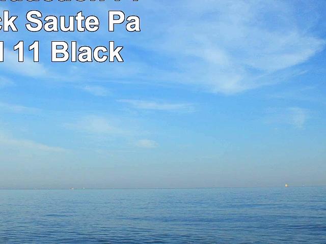 Scanpan Induction Plus NonStick Saute Pan with Lid 11 Black