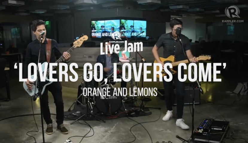 Orange and Lemons – 'Lovers Go, Lovers Come'