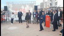 La danse déjantée de Jean-Claude Van Damme pour inaugurer son étoile sur le «Walk of Fame» de la digue d'Ostende