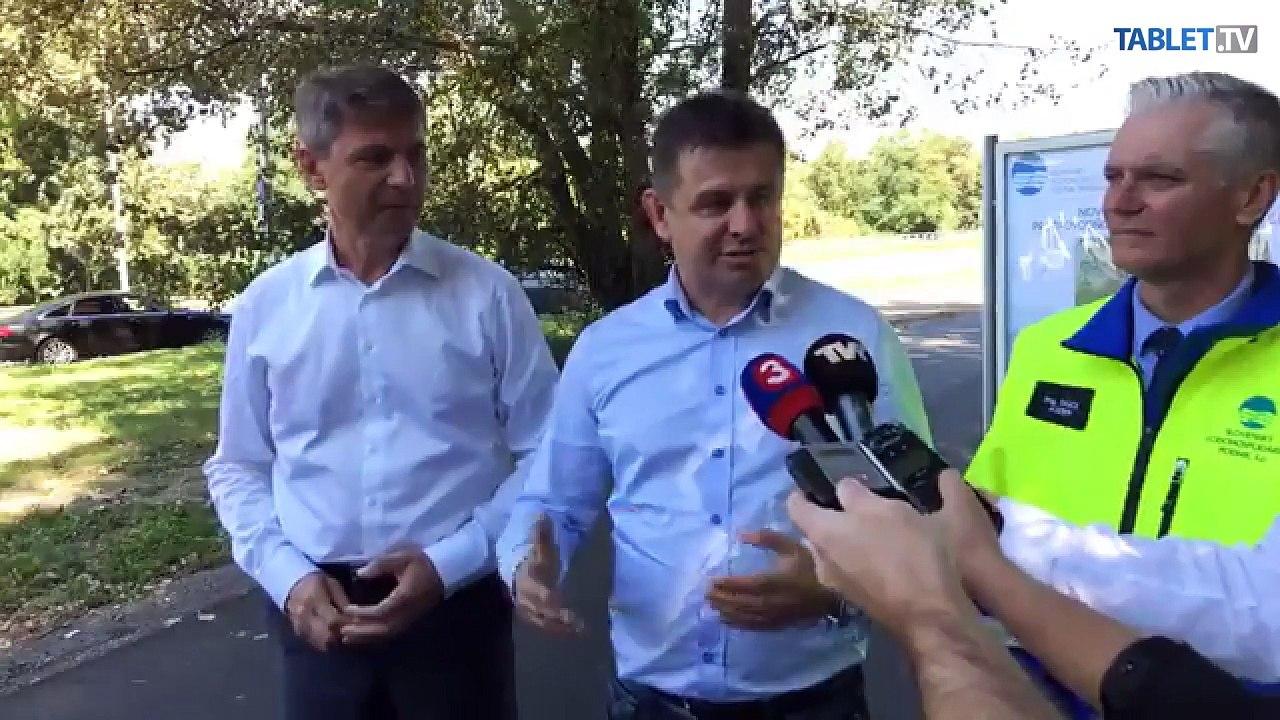 ZÁZNAM: Brífing ministra L. Sólymosa a primátora Bratislavy I. Nesrovnala