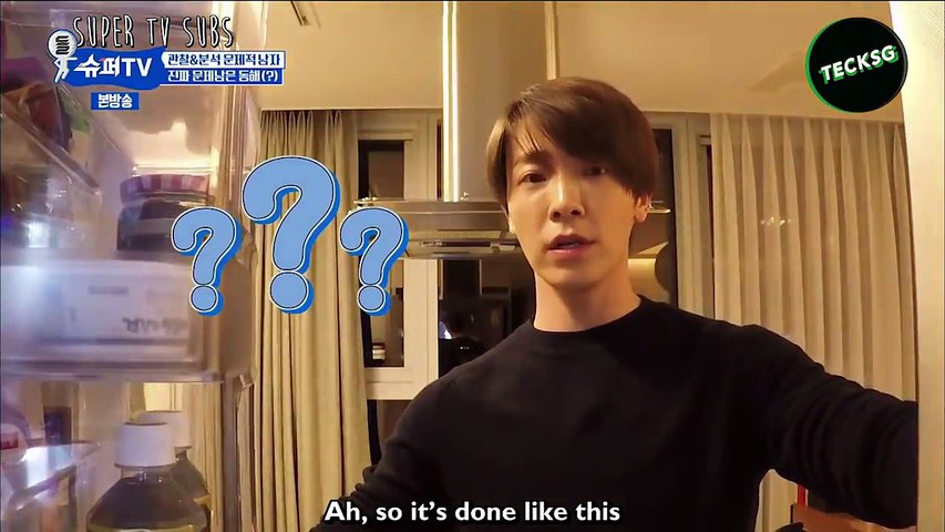 When Super Junior Visiting Other People's House