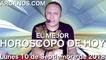 EL MEJOR HOROSCOPO DE HOY ARCANOS Lunes 10 de Septiembre de 2018