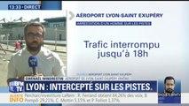 """Aéroport de Lyon: """"Le trafic aérien est interrompu jusqu'à 18h"""" explique Gwenaël Windrestin"""