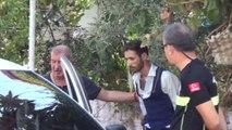 Sürücüsü uyuşturucu ve çakmak gazı etkisindeki araçtan pompalı tüfek, tabanca ve uyuşturucu çıktı