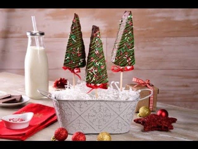 Cheesecake en Forma de Arbolito | Pastel de Queso Navideño