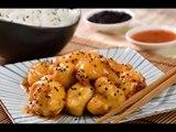 Pollo Agridulce Crujiente | Pollo Frito Oriental