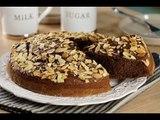 Bizcocho de Almendras y Chocolate| Panqué de Chocolate con almendras