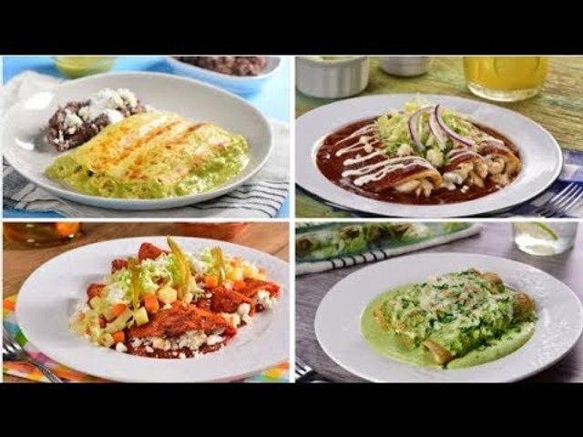 4 Recetas de Enchiladas Mexicanas