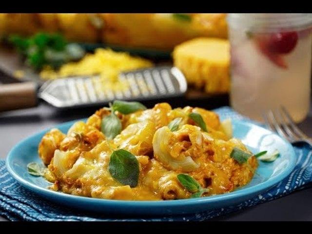 Coditos con Atún al Chipotle   Pasta con atún en SALSA cremosa de CHIPOTLE