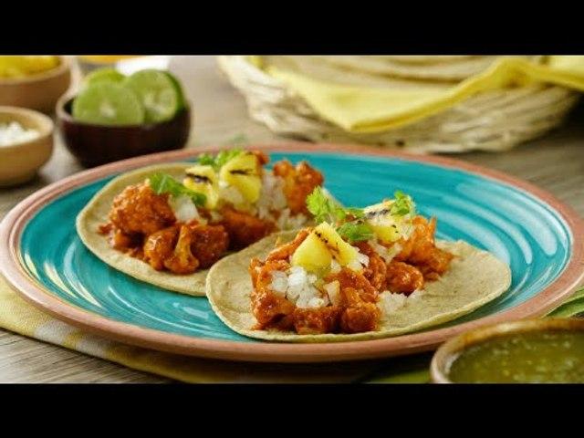 Tacos de Coliflor al Pastor