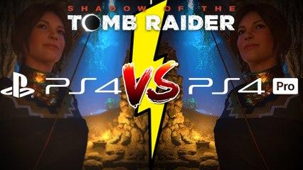 Extrait / Gameplay - Mode Performance V.S. Mode Résolution de Shadow of the Tomb Raider sur PS4 Pro