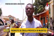Congo: se registran 58 muertes y 96 afectados tras brote de Ébola