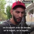 """Agression au couteau à Paris : """"J'ai pris mes boules de pétanque et j'ai couru vers lui"""", raconte un témoin"""