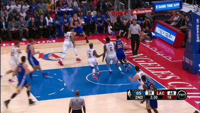 NBA Shorts - Steph Curry Gives CP3 the Slip with Wicked Cross