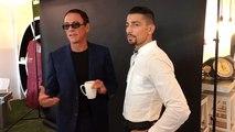 Rencontre de Jessy Petit-Jean avec Jean-Claude Van Damme