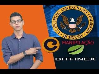Notícias Análise 10/09: SÉC Suspende Contratos Futuros XBT - Manipulação Bitfinex - Dados Vazados