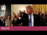 Trump calls anonymous New York Times opinion column 'gutless'