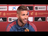 Sergio Ramos Full Pre-Match Press Conference - England v Spain - UEFA Nations League