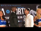 Yordenis Ugas vs Cesar Barrionuevo FACE OFF