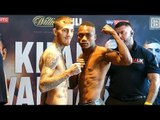 SAM'S TOWN: Sam Eggington weighs in | Khan vs Vargas Weigh-In