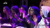 La actuación ganadora en el último Festival de Cultura de la RASD, el grupo de mi wilaya, El Aaiún, en el que participa mi hermana como cantante principal.