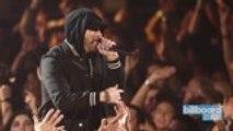 'Kamikaze' Earns Eminem His Ninth No. 1 Album on Billboard 200 Chart | Billboard News