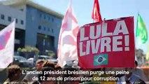 Les supporters de Lula campent sous les fenêtres de sa prison