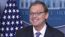 White House Economic Adviser Kevin Hassett Corrects Trump On Unemployment Rate