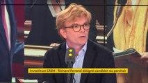 Marc Fesneau, député du Loir-et-Cher et président du groupe MoDem à l'Assemblée nationale était l'invité de franceinfo lundi 10 septembre 2018.