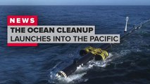 The Ocean Cleanup launches System 001 to the Great Pacific Garbage Patch