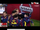 Hattrick Messi dan Debut Gol Suarez Warnai Kemenangan Barca