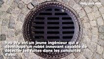 Un ingénieur de 28 ans a conçu un robot qui pourrait permettre d'économiser 7500 milliards de litres d'eau potable chaque année