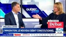 Emmanuelle Latravers sur l'immigration, Le nouveau débat constitutionnel. #Québec2018 #Montreal #Québec @elatraverse