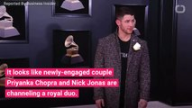 Priyanka Chopra and Nick Jonas Basically Recreated Meghan Markle and Prince Harry's Engagement Photos