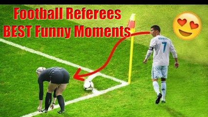Football Referees • Best Funny Moments ⚽ - TOP TV
