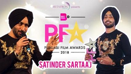 Satinder Sartaaj Performs at Punjabi Film Awards